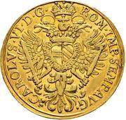 4 Ducat - Karl VI – obverse