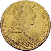 5 Ducat - Karl VII. – obverse