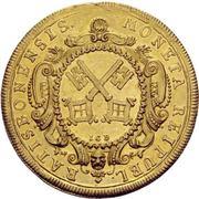 5 Ducat - Karl VII. – reverse