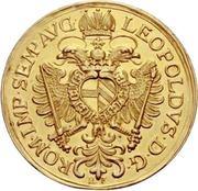 6 Ducat - Leopold I. -  obverse