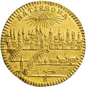 ½ Ducat - Joseph II. – reverse