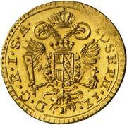 ¼ Ducat - Joseph II. – obverse