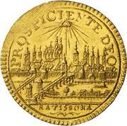¼ Ducat - Joseph II. – reverse