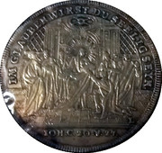 Baptism Medallion - Regensburg pre-1779 John 20:27 – reverse