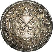 1 Thaler - Leopold I – reverse