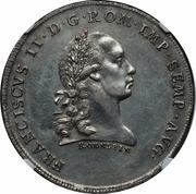 1 Thaler - Franz II – obverse