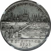 1 Thaler - Franz II – reverse