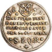 1 Ducat (Silver pattern strike; Reformation) – obverse