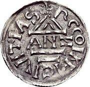 1 Denar - Heinrich IV. der Heilige – reverse