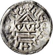 1 Denar - Heinrich IV. – reverse
