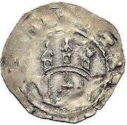 1 Dünnpfennig - Heinrich der Stolze – reverse