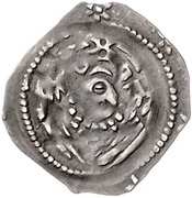 1 Pfennig - Heinrich I. von Niederbayern – reverse