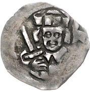 1 Pfennig - Johann I. – obverse