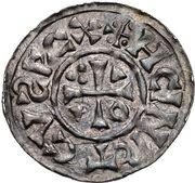 1 Denar - Heinrich II. der Zänke (Regensburg) – obverse