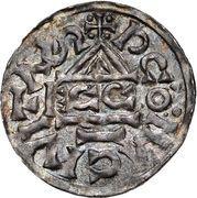1 Denar - Heinrich II. der Zänke (Regensburg) – reverse