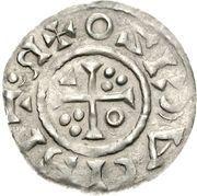 1 Denar - Heinrich II (Regensburg) – reverse