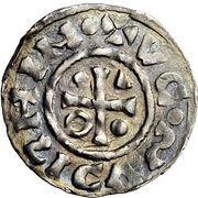 1 Denar - Heinrich IV. – obverse