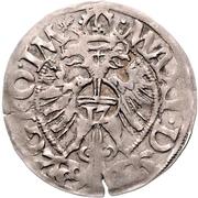 1 Fürstengroschen - Ernst I., Botho und Caspar Ulrich – reverse