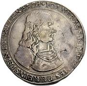 2 Thaler - Johann Erasmus von Tattenbach – obverse