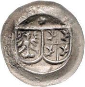 1 Pfennig - Ulrich VI. (Hohlpfennig) – obverse