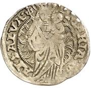 1 Mariengroschen -  Ernst I., Botho and Caspar Ulrich – reverse