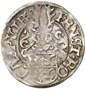 1 Fürstengroschen - Ernst I., Botho and Caspar Ulrich – obverse