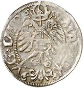 1 Fürstengroschen - Ernst I., Botho and Caspar Ulrich – reverse