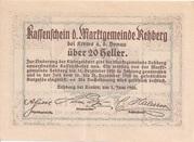 20 Heller (Rehberg) -  reverse