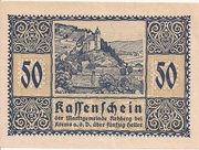 50 Heller (Rehberg) – obverse