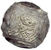 1 Dünnpfennig - Ulrich IV. von Heidegg – obverse
