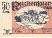 50 Heller (Reichental im Mühlkreis) -  obverse