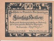 50 Heller (Reichraming) -  obverse