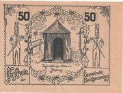 50 Heller (Reichraming) -  reverse