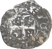 Denier Robert de courtenay - archevéché de Reims – reverse