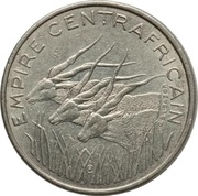 100 Francs CFA - Bokassa I – obverse
