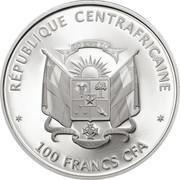 100 Francs CFA (Panda) – obverse