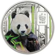 100 Francs CFA (Panda) – reverse