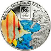 100 Francs CFA (Great Barrier Reef) – reverse