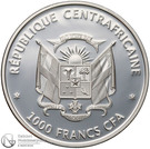 100 Francs CFA (Butterflies of the world) – obverse