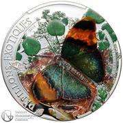 1000 Francs (Butterflies of the world) – reverse