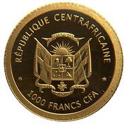 1000 Francs CFA (Eiffel Tower) – obverse