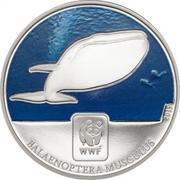 100 Francs CFA (Blue Whale) – reverse
