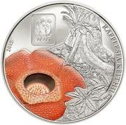 100 Francs CFA (Rafflesia) – reverse