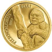 1000 Francs CFA (Wildlife Protection - Piliocolobus Foai) – reverse