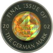 5 Francs (German Mark) – reverse