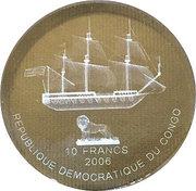 10 Francs (Le Shtandart) -  obverse