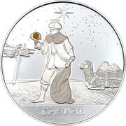 10 Francs (Caspar) – reverse