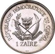 1 Zaïre (Essai) – obverse