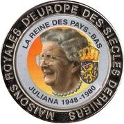 5 Francs (The Netherlands - Queen Juliana) – reverse