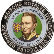 5 Francs (The Netherlands - King Willem I) – reverse